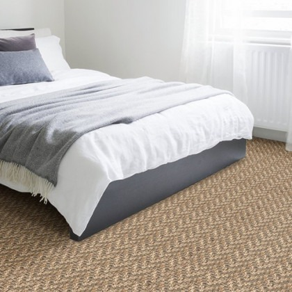 Jute Big Herringbone Bagel by Alternative Carpets