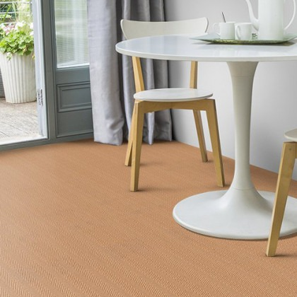 Jute Herringbone Natural by Alternative Carpets