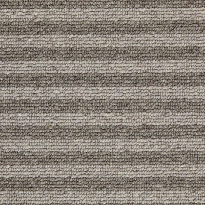Shades of Grey Stripe by Kingsmead Carpets Andean