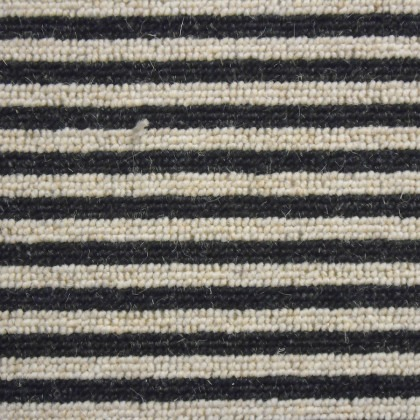 Shetland Stripe by Condor Carpets 178 Ebony