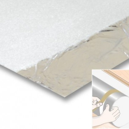 Silverlay Laminate Underlay Foil Backed